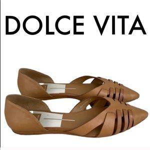 👑 DOLCE VITA FLATS 💯AUTHENTIC